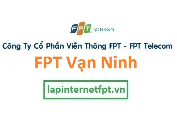 Lắp mạng FPT huyện Vạn Ninh Khánh Hòa