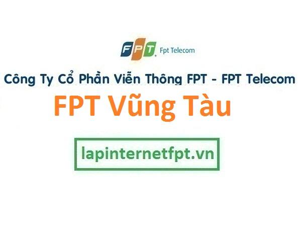 Lắp đặt mạng FPT Vũng Tàu