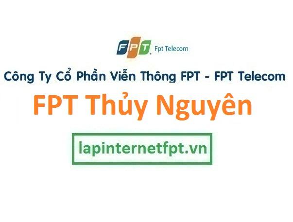 Lắp đặt mạng FPT huyện Thủy Nguyên Hải Phòng