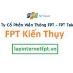 Lắp đặt internet FPT huyện Kiến Thụy thành phố Hải Phòng