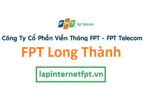Lắp đặt mạng FPT huyện Long Thành Đồng Nai