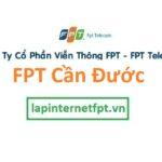 Lắp Đặt Mạng FPT Huyện Cần Đước Tỉnh Long An