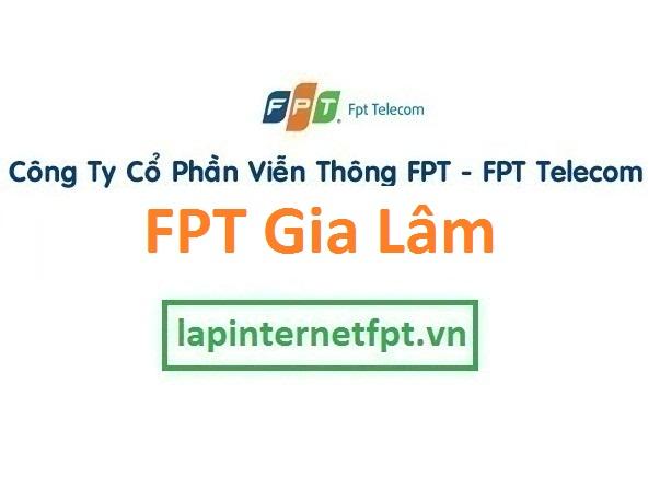 Lắp đặt internet FPT huyện Gia Lâm Hà Nội