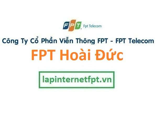 Lắp đặt internet FPT huyện Hoài Đức Hà Nội
