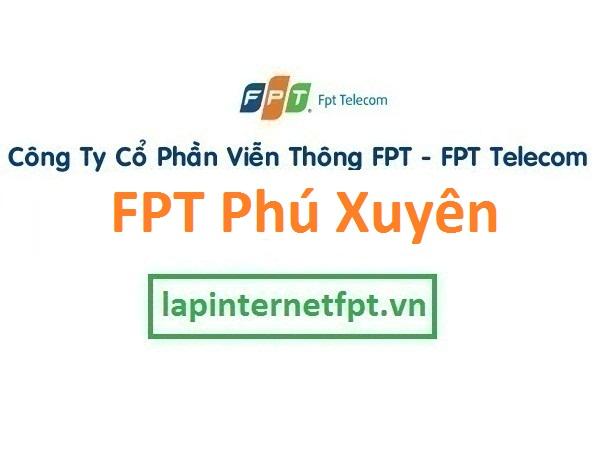 Lắp đặt mạng FPT huyện Phú Xuyên Hà Nội