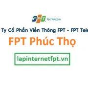 Lắp đặt internet FPT huyện Phúc Thọ Hà Nội