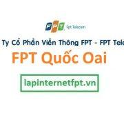 Lắp đặt internet FPT huyện Quốc Oai Hà Nội