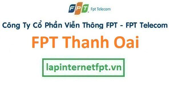 Lắp đặt internet FPT huyện Thanh Oai Hà Nội
