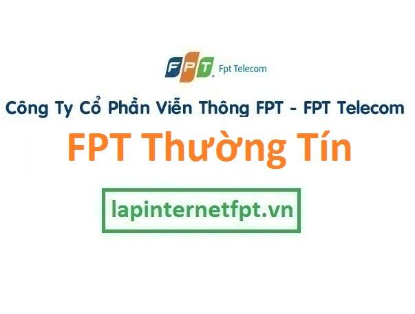 Lắp đặt mạng FPT huyện Thường Tín Hà Nội