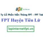 Lắp đặt mạng FPT huyện Tiên Lữ