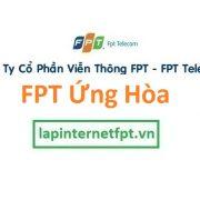 Lắp đặt internet FPT huyện Ứng Hòa Hà Nội
