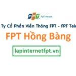 Lắp Mạng FPT Quận Hồng Bàng Thành Phố Hải Phòng
