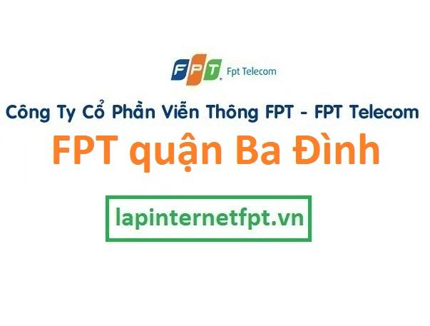 Lắp đặt mạng FPT quận Ba Đình Hà Nội