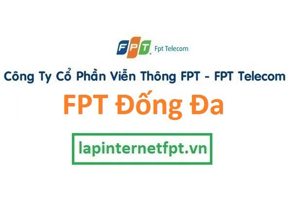 Lắp đặt internet FPT quận Đống Đa Hà Nội