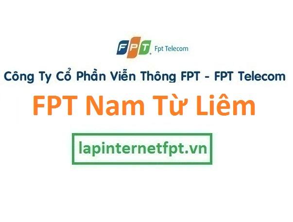 Lắp đặt internet FPT quận Nam Từ Liêm Hà Nội