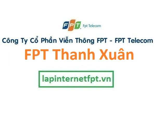 Lắp đặt internet FPT quận Thanh Xuân Hà Nội