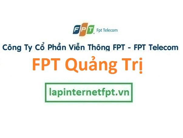 Lắp đặt internet FPT Quảng Trị