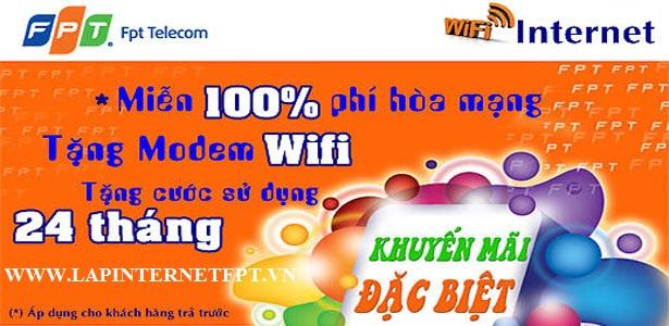 Lắp Đặt WiFi FPT Quận Ba Đình