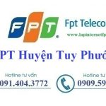 Lắp Đặt Internet FPT Huyện Tuy Phước Tỉnh Bình Định