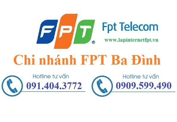 Đăng Ký Cáp quang FPT Quận Ba Đình