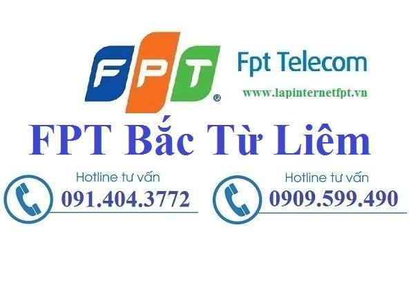 Đăng ký lắp đặt internet FPT quận Bắc Từ Liêm Hà Nội giá Sốc