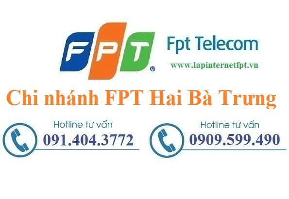 Lắp đặt mạng FPT quận Hai Bà Trưng Hà Nội miễn phí 100%