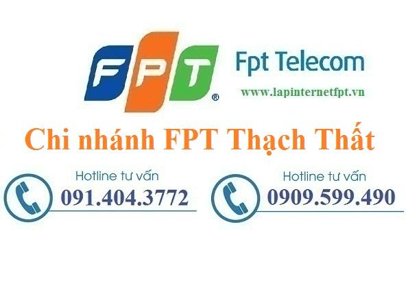 Lắp đặt internet FPT huyện Thạch Thất Hà Nội chất lượng cao