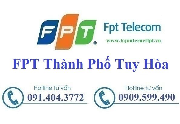 Đăng Ký cáp quang FPT Thành Phố Tuy Hòa