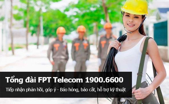 Tổng đài hỗ trợ kỹ thuật Fpt