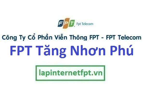 Lắp mạng FPT phường Tăng Nhơn Phú A B