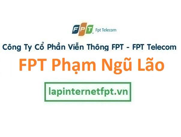 Lắp đặt mạng FPT phường Phạm Ngũ Lão