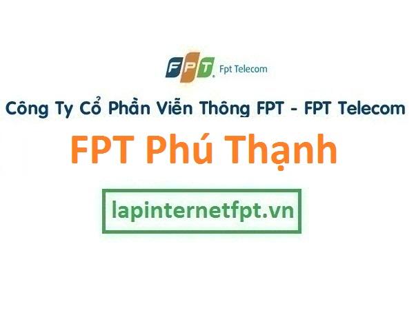 Lắp đặt internet FPT phường Phú Thạnh