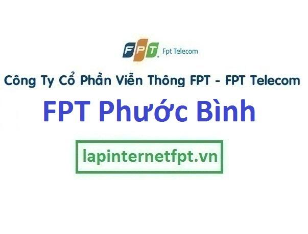Lắp mạng internet FPT phường Phước Bình TPHCM