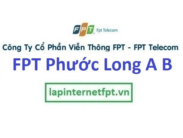 Lắp internet FPT phường Phước Long A B TPHCM