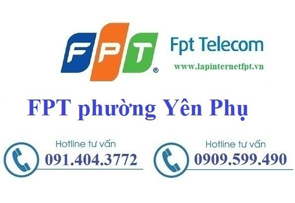 Tổng đài đăng ký cáp quang FPT phường Yên Phụ