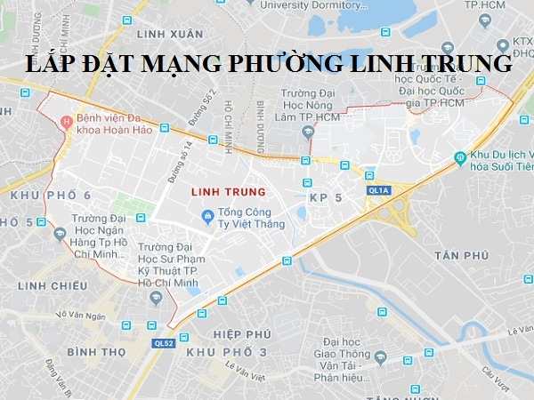 LẮP ĐẶT MẠNG FPT PHƯỜNG LINH TRUNG