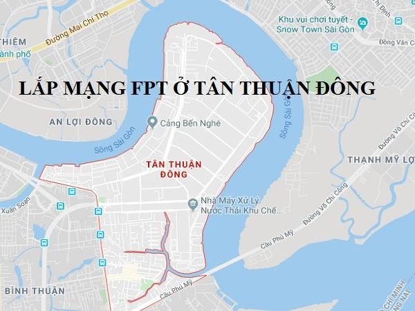 Lắp đặt mạng Fpt phường Tân Thuận Đông