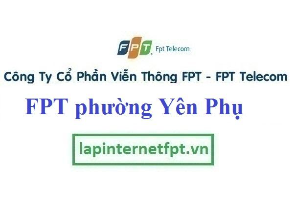 Lắp đặt mạng Fpt ở phường Yên Phụ