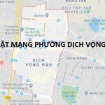Lắp mạng Fpt phường Dịch Vọng Hậu với thủ tục đơn giản