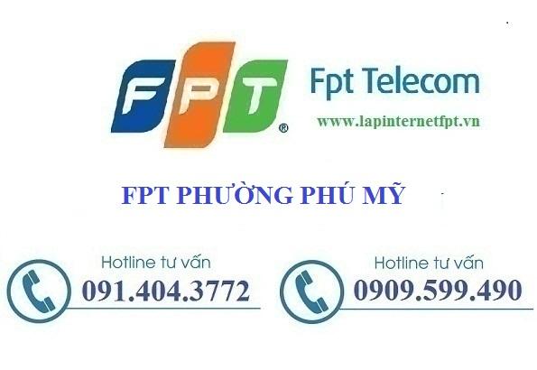 Đăng ký cáp quang Fpt phường Phú Mỹ