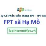 Lắp mạng FPT ở xã Hạ Mỗ