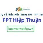 Lắp đặt mạng FPT xã Hiệp Thuận