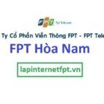 Lắp đặt mạng FPT ở xã Hòa Nam