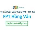 Lắp mạng FPT xã Hồng Vân