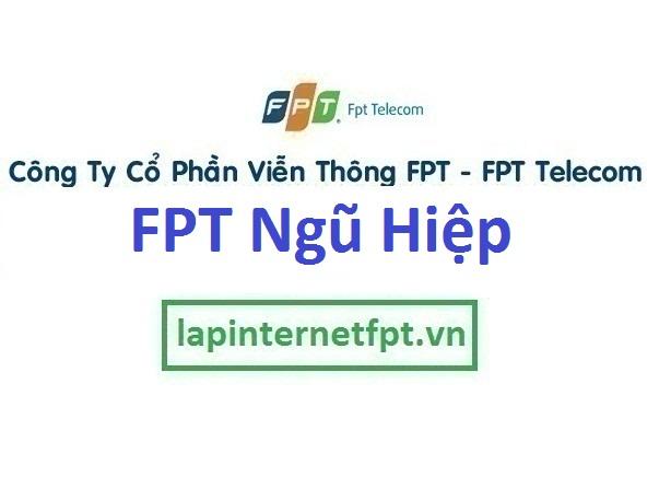 Lắp đặt mạng FPT ở xã Ngũ Hiệp