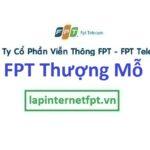 Lắp đặt mạng FPT xã Thượng Mỗ huyện Đan Phượng Hà Nội