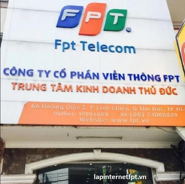 Văn phòng giao dịch FPT 66 Hoàng Diệu 2