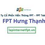 Lắp Đặt Mạng FPT phường Hưng Thạnh quận Cái Răng Cần Thơ