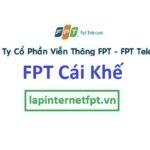 Lắp Đặt Mạng FPT phường Cái Khế quận Ninh Kiều Cần Thơ