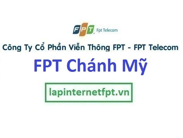 Lắp đặt internet FPT phường Chánh Mỹ tại Thủ Dầu Một Bình Dương